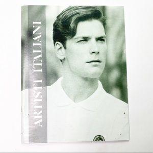 Vintage Fashion Catalog Italian Magazine Greek 80s